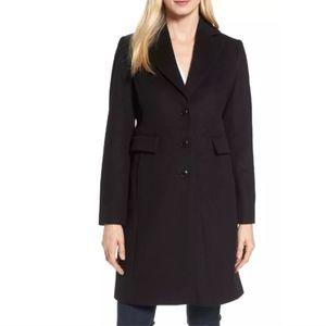Kristen Blake knee length wool blend coat